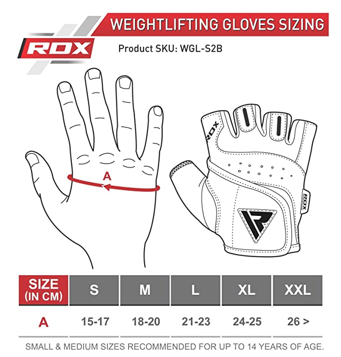 RDX Weight Lifting Guantes, Hombre, Negro/Rojo, X-Large: Amazon.es: Deportes y aire libre