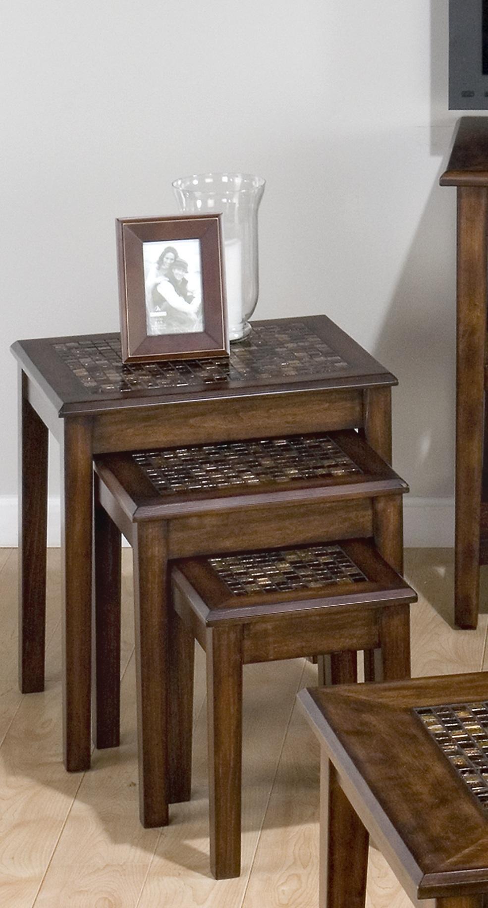 Jofran 3-Pc Nesting Table Set by Jofran
