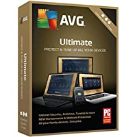 AVG Ultimate 2018, Unlimited Devices, 2 Years [Key Card in Retail Box]
