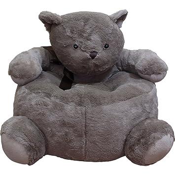 CUB CHAIRS Child Plush Animal Bear Chair, Small