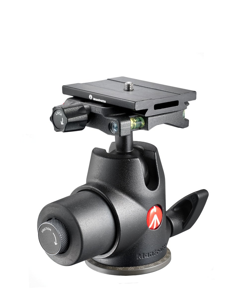 Manfrotto 468MGQ6 Hydrostatic Ball Head with Top Lock Quick Release (Black)