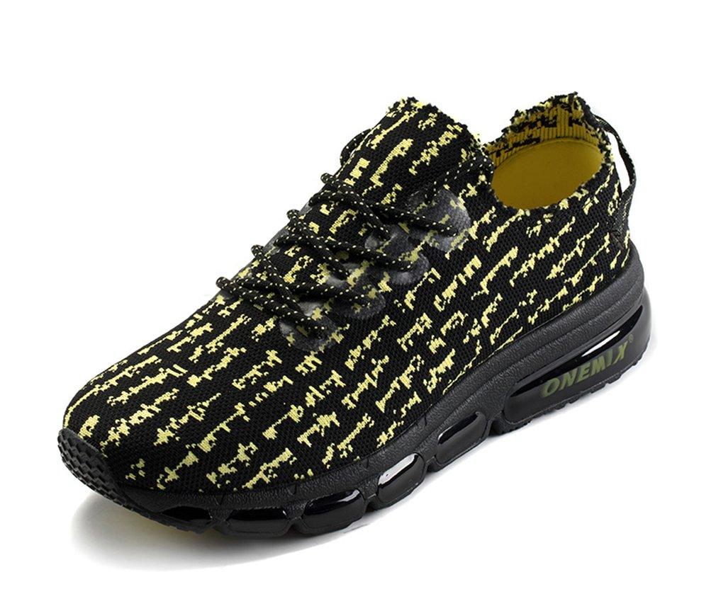 MT-onemix Retro Lightweight Knit Upper Shock Absorber Print Outdoor Jogging Sneakers 6.5 D(M) US=Foot Length 9.64