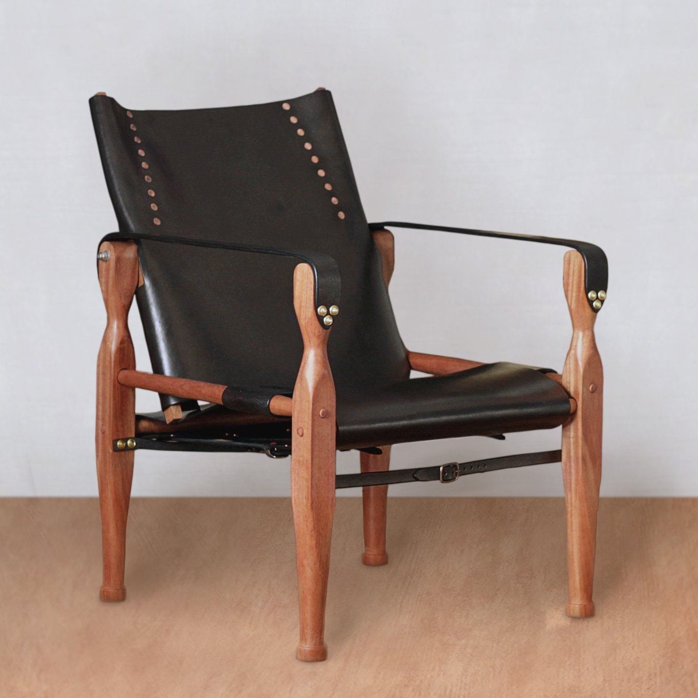 New Ideas Chair Wood Leather