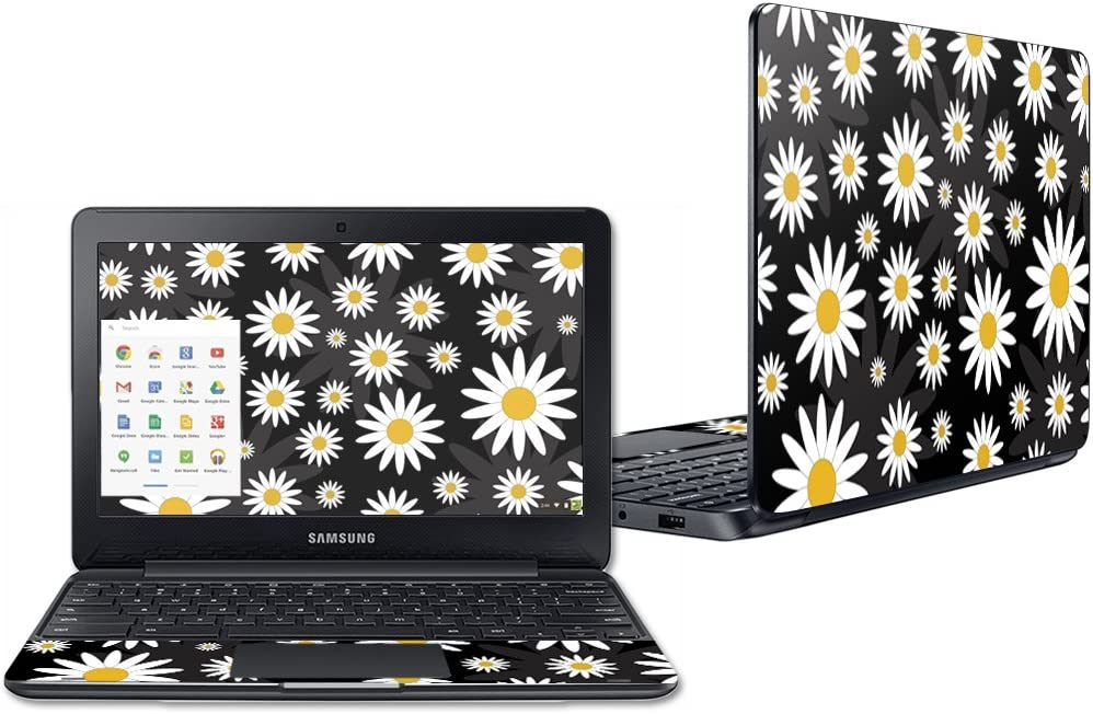 """Mightyskins Skin Compatible with Samsung Chromebook 3 11.6"""" - Daisies 