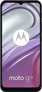 Moto G20, 128GB ROM, 4GB RAM, Breeze Blue - Amazon Exclusive