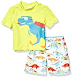 KIKO & MAX Little Boys' Swimsuit Set with Short