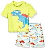 KIKO & MAX Little Boys' Swimsuit Set with Short
