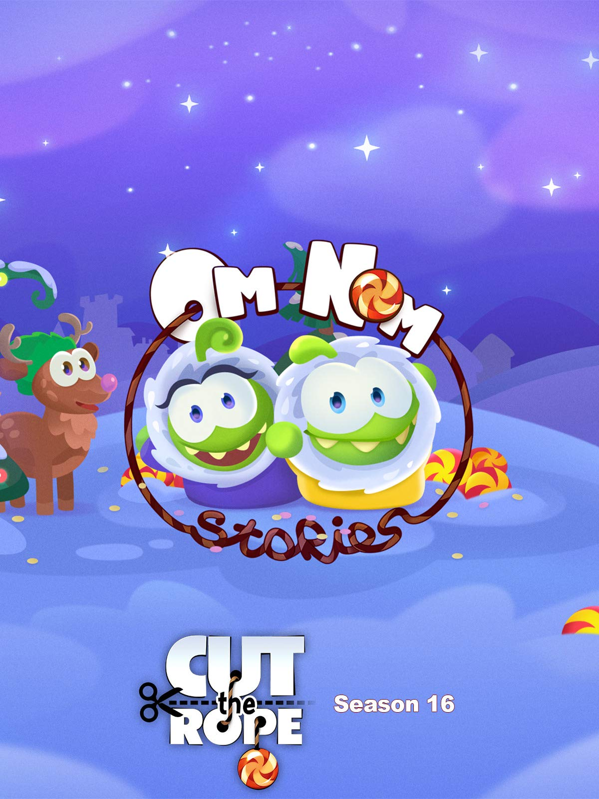 Cut the Rope: Om Nom Stories - Season 16 on Amazon Prime Video UK