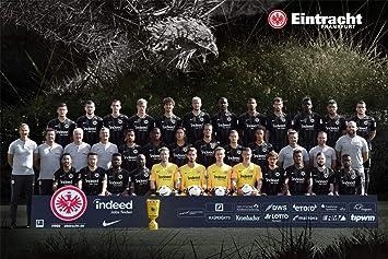 Mannschaftsposter SGE Eintracht Frankfurt Poster Plus Lesezeichen I Love Frankfurt Team Plakat