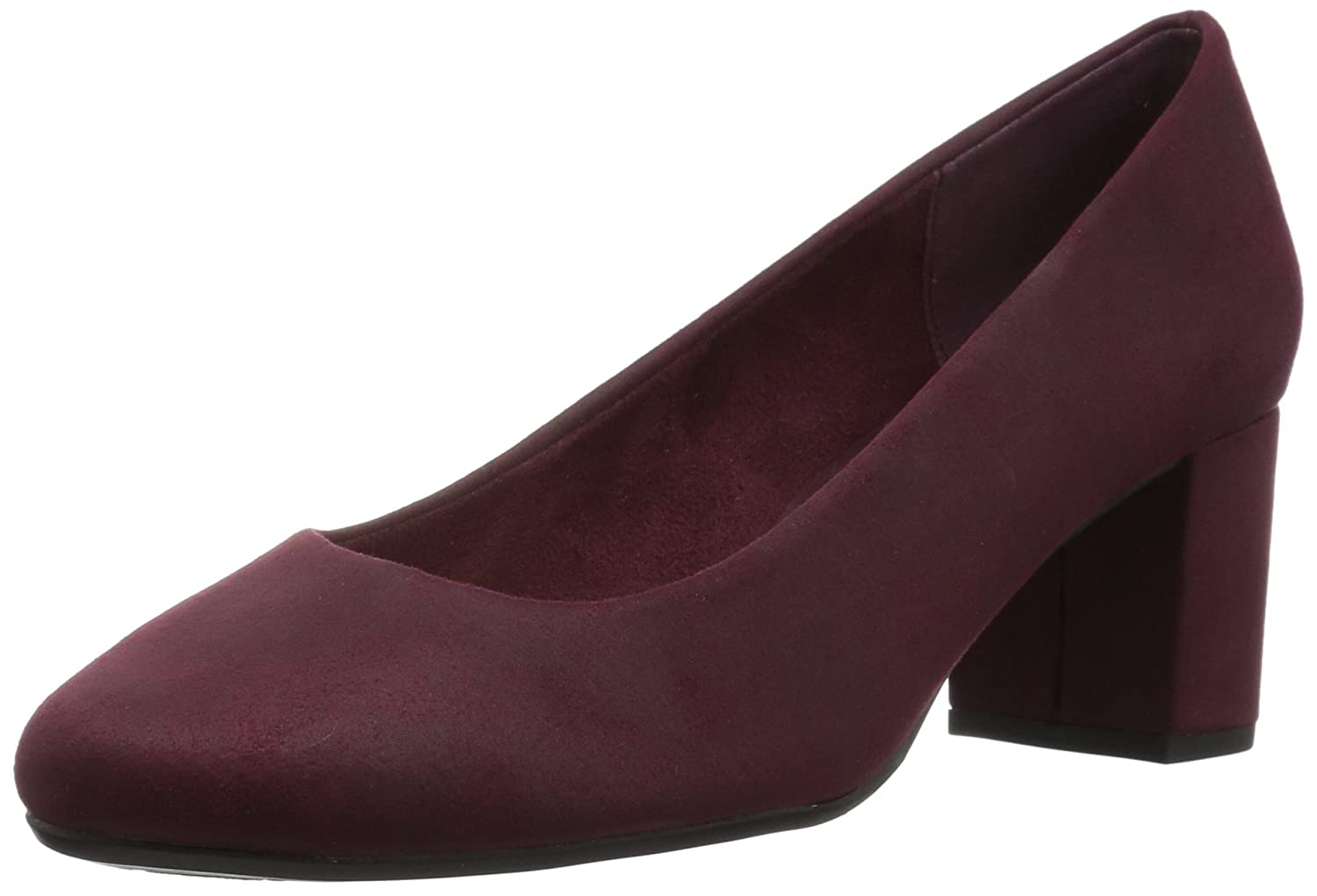Easy Street Women's Proper Dress Pump B071ZMV2HZ 10 2W US|Burgundy Super Suede