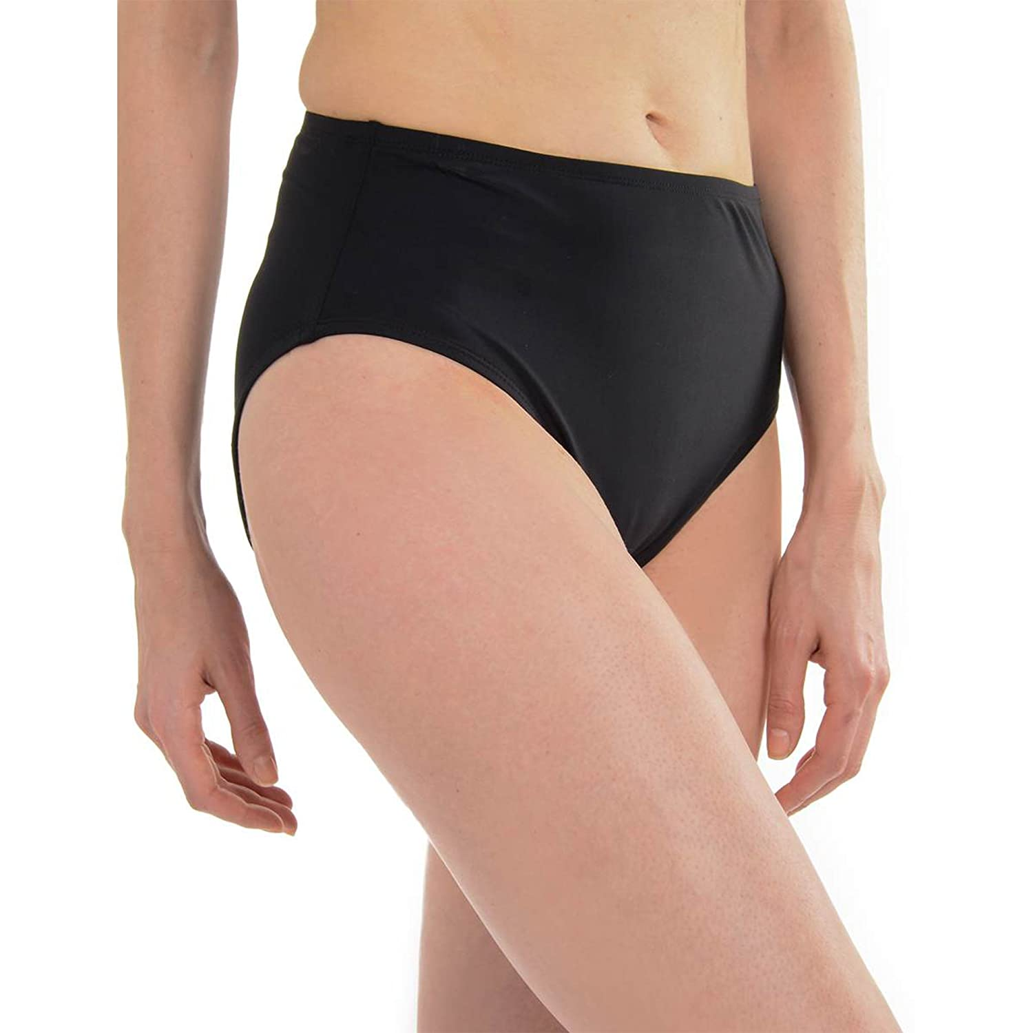 ce74d01a201 The Spanx Full Coverage Bikini Bottom slims and shapes for a flattering  swimwear look. Shapes the lower stomach