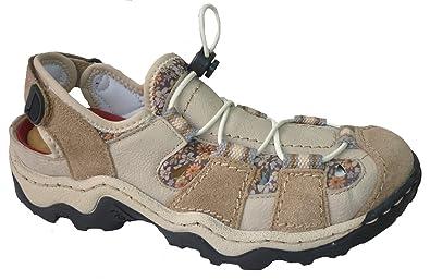 Rieker Schuh GmbH, LEANDRA, Größe 42, PEBBLE MUS  Amazon.de  Schuhe ... f465d99803