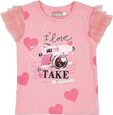 boboli 443089-3544 Camiseta, Rosa (Barbie), 10 años para Niñas: Amazon.es: Ropa y accesorios