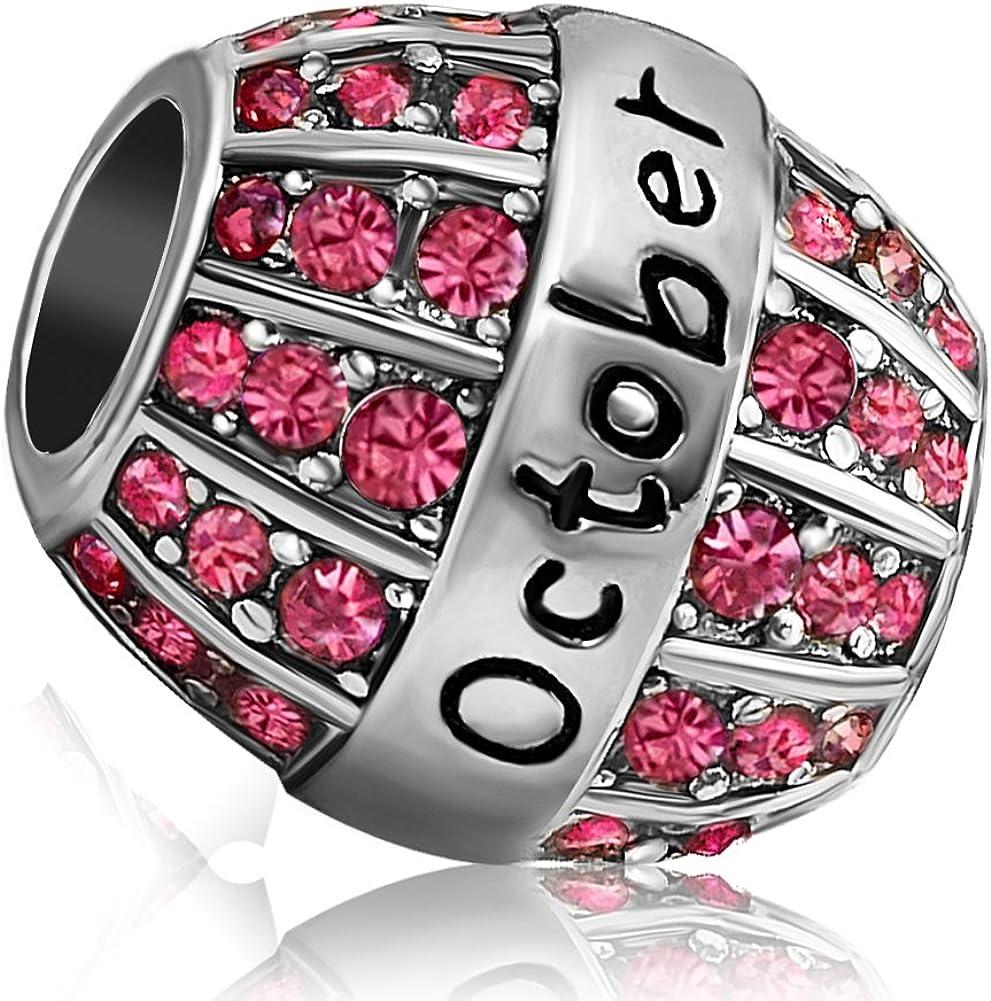 JMQJewelry Birthday Charms Bead For Bracelets