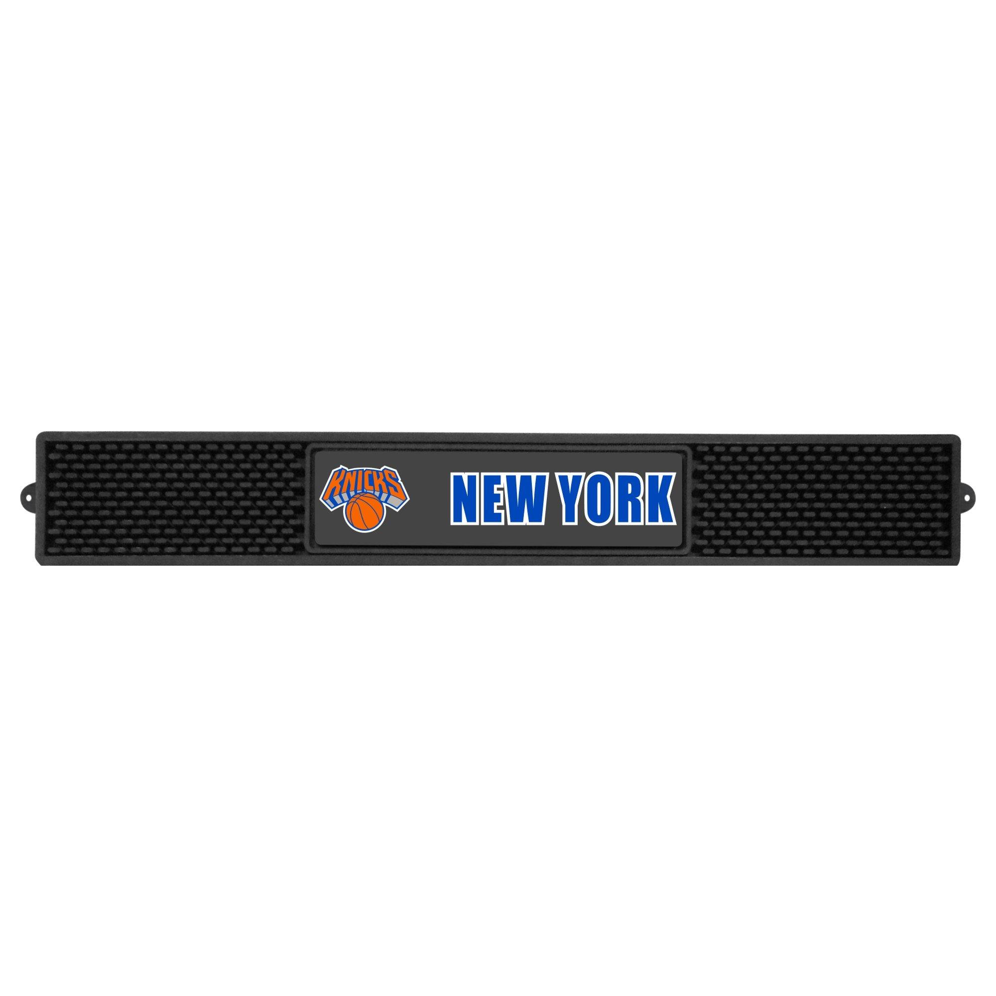 Fanmats 14054 NBA New York Knicks Vinyl Drink Mat