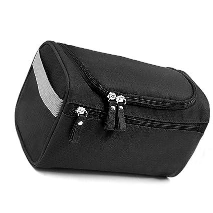 3ecad9639 Xelparuca - Neceser de viaje para colgar con cremallera impermeable para  cosméticos y neceser de ducha