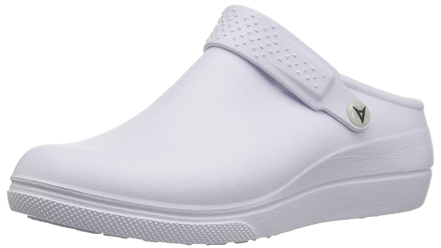 White, White Anywear Womens Peak Health Care Professional shoes