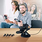 PS4 Controller Charger, YCCTEAM Dual PS4 Controller Charging Station for Sony PS4/PS4 Slim/PS4 Pro Controller with LED Charging Indicator