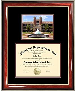 florida state university fsu diploma frame fsu graduation degree frame campus college photo graduation
