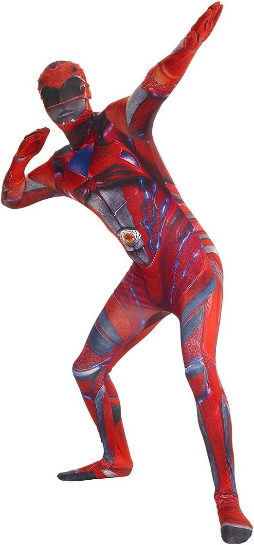 Saban/'s Power Ranger Deluxe Morphsuit Adulte Large 161-177 cm-Choisir Couleur