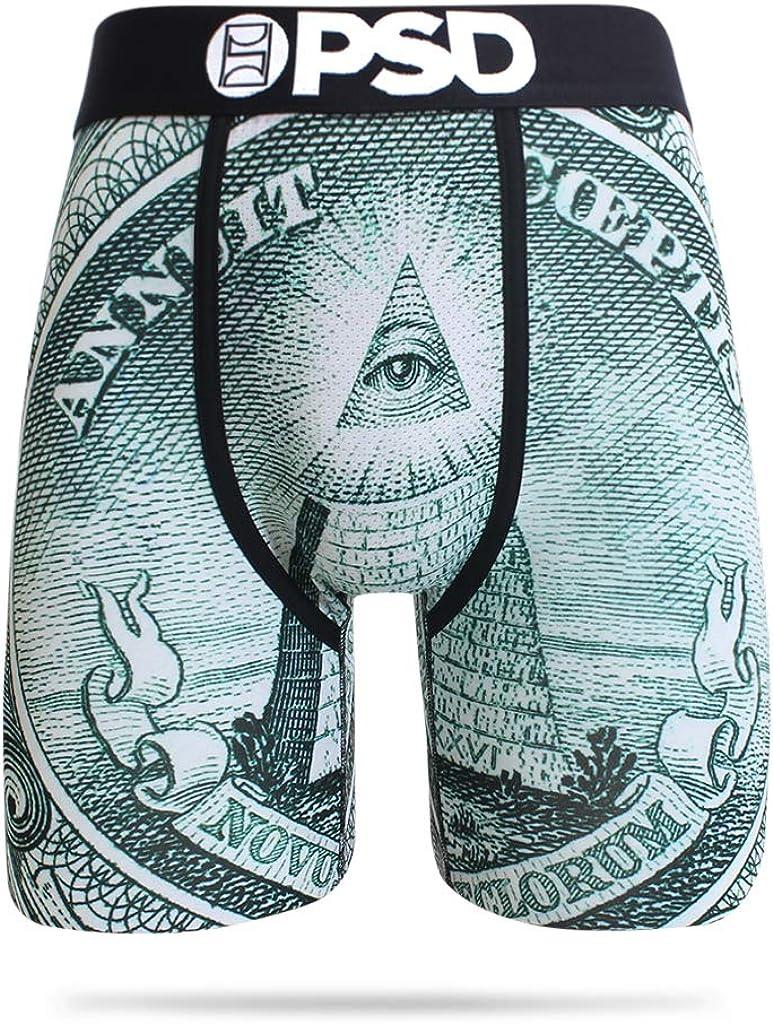 PSD Men's E - Money Pyramid Boxer Brief Underwear