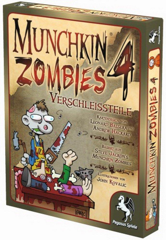 Pegasus Spiele Munchkin Zombies 4: Verschleißteile
