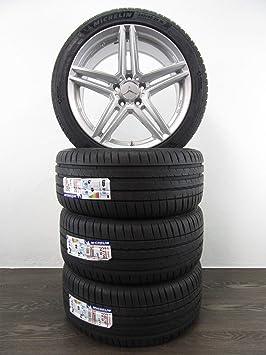 4 ruedas de verano de 18 pulgadas para Mercedes C 205 CLS 218 E 213 238 RIAL M10 MICHELIN: Amazon.es: Coche y moto