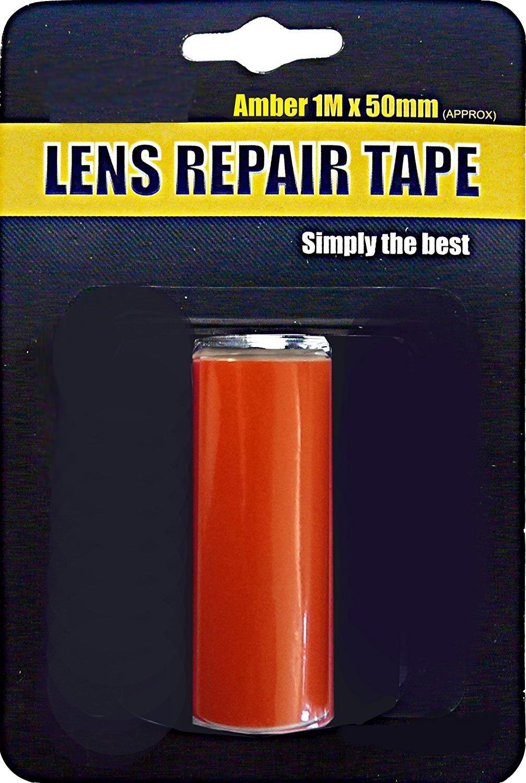Front Van Car Amber Indicator Light Unit Broken Glass Repair Tape Repair Film AutoPower