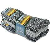 Norveç Tipi Havlulu Yünlü Kışlık Erkek Çorabı 3'Lü Set / 6038