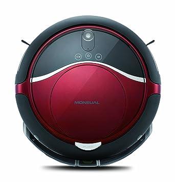 Moneual Rydis H68 PRO-MR6803VM Robot Aspirador Híbrido H68PRO 0.6 litros, Rojo vino