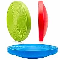 #DoYourFitness Balance-Board Durchmesser 40cm & Höhe 10cm Kreisel für Physiosport/Physiotherapie - Wackelbrett trainiert/stärkt Das Körpergleichgewicht - Therapiekreisel/Koordinations Board »Orbital«
