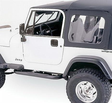 Rampage Jeep 68035 YJ puerta de acero completa Top Kit w/Hardware