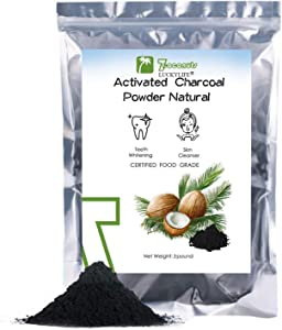 (2 Pound) Activated Charcoal Powder, Teeth Whitening Charcoal Powder Food Grade