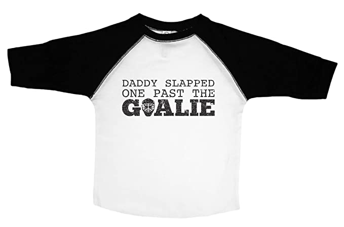 Amazon Com Baffle Toddler Daddy Slapped One Past The Goalie