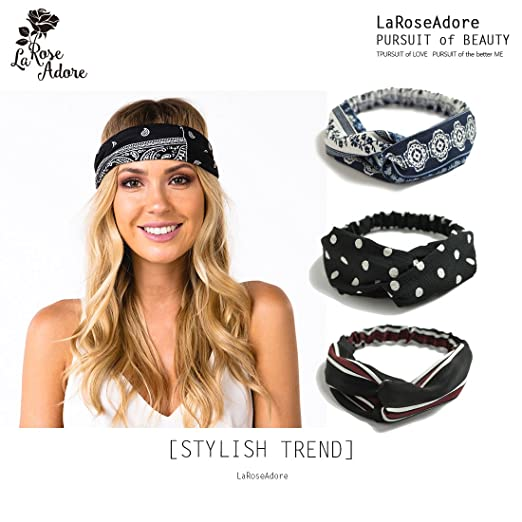 LaRoseAdore Headbands for Women e7a86674017
