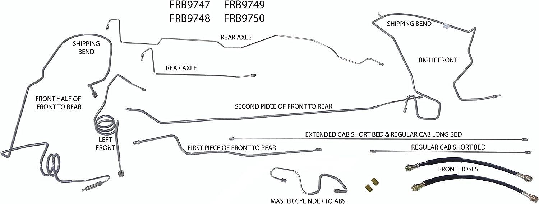 30 2003 Ford Ranger Brake Line Diagram