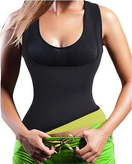 d4355694ef Women s Slimming Neoprene Sweat Hot Shirt Body Shapers for Weight Loss No  Zip (S