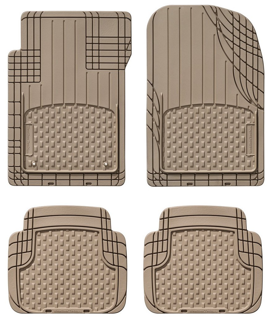 Weathertech all vehicle mats review - Amazon Com Weathertech Trim To Fit Avm Front And Rear Universal Mats Tan Automotive