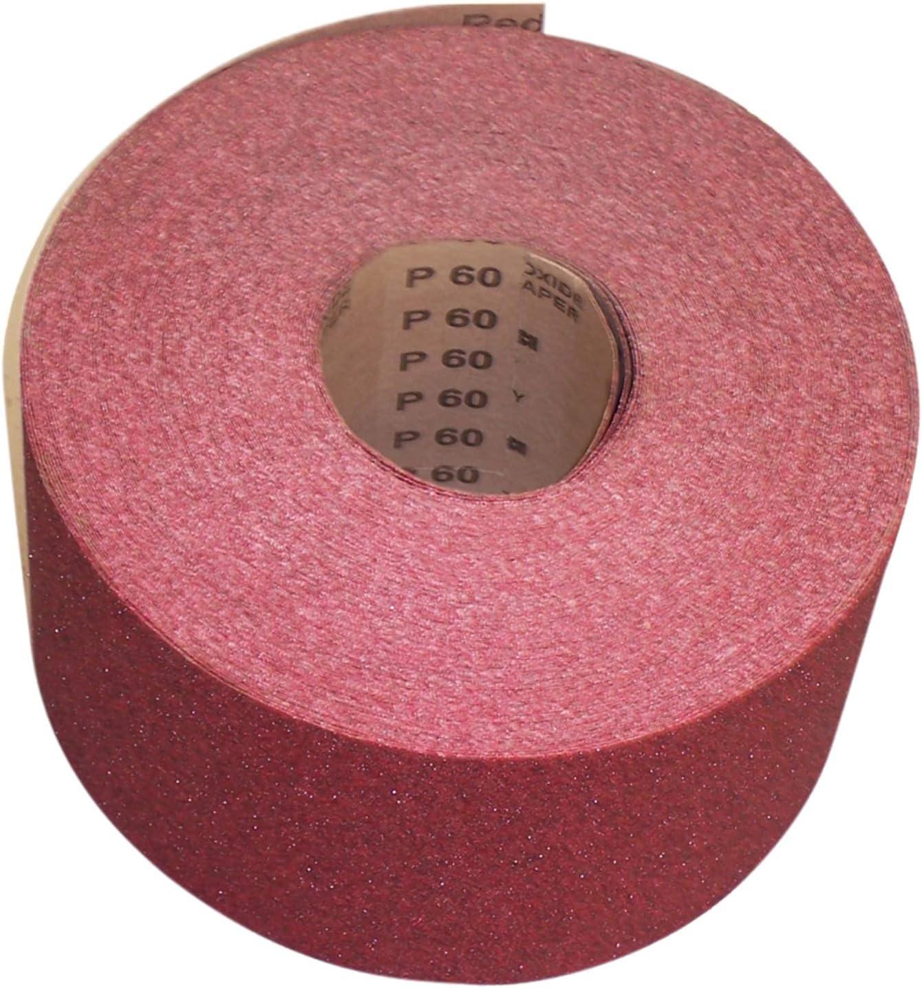 Papel de Lija Eckra 1 Rollo Red 115 mm X 50M Grano 240