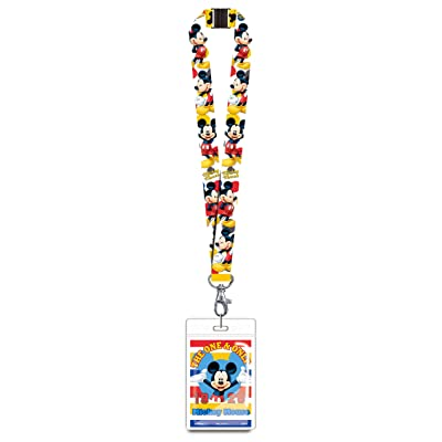 Disney 85926 Mickey Mouse The One and Only Lanyard Novelty and Amusement Toys: Toys & Games