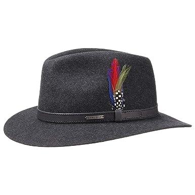 e80203c85f7 Stetson Powell Traveller Felt Hat Men