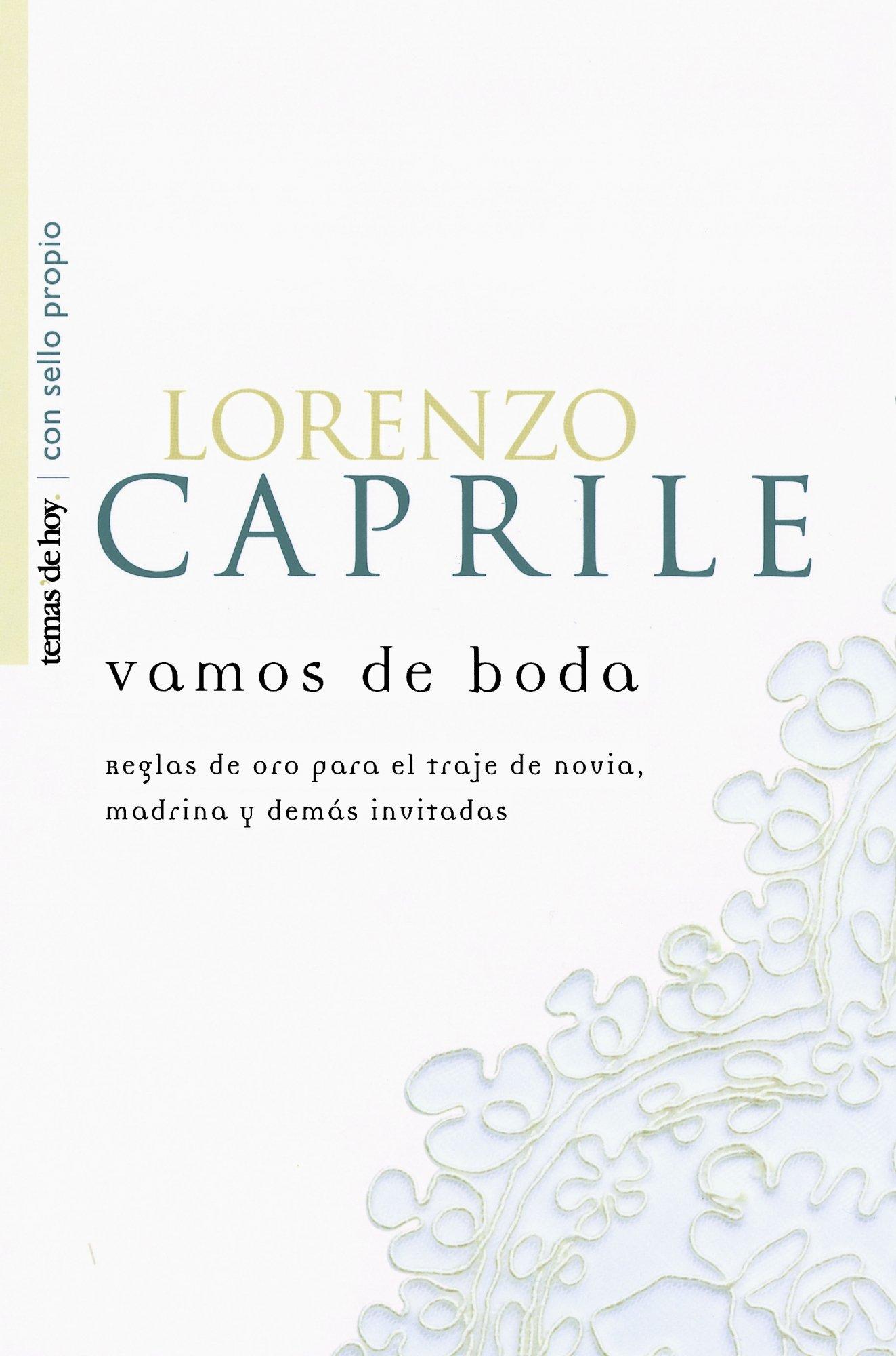 Vamos De Boda (Spanish Edition): Lorenzo Caprile ...