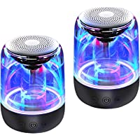 Bluetooth Portable Speaker, True Wireless Stereo Speakers, Crystal Clear Stereo Sound, Rich Bass, 100 Ft Wireless Range…