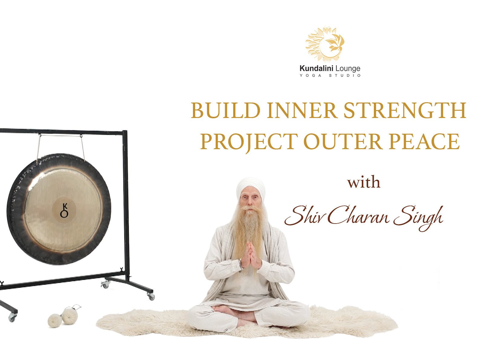 Kundalini Yoga: Build Inner Strength, Project Outer Peace with Shiv Charan Singh on Amazon Prime Video UK