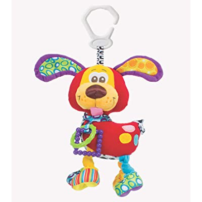 Playgro Baby Toy Activity Friend Pooky Puppy 0181200107 for baby infant toddler children is Encouraging Imagination with STEM/STEAM for a bright future - Great Start for A World of Learning : Baby