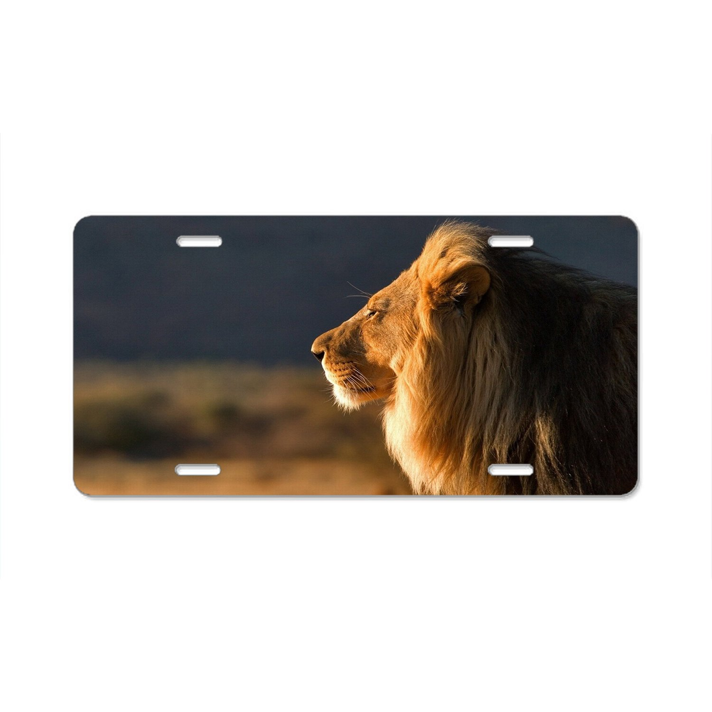 Rchengqush Einzigartige Beliebtes Design Platte Rahmen Custom Lion ...