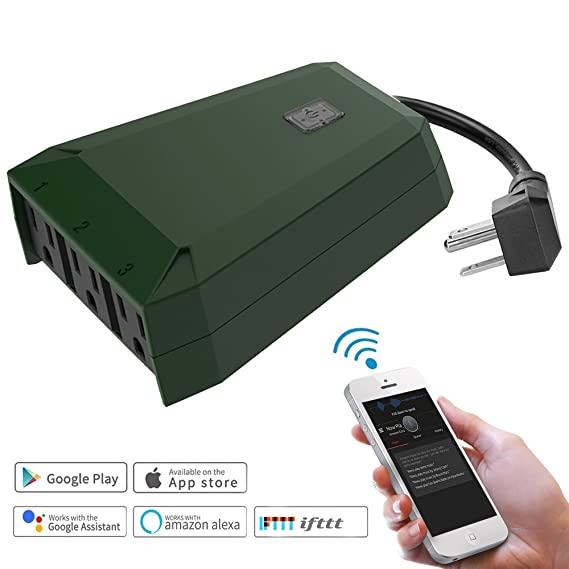 Review Waterproof Outdoor Wifi Smart