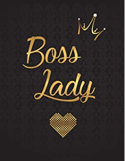 Boss Lady 2019 Planner: Nifty Black Gold Female Empowerment ...