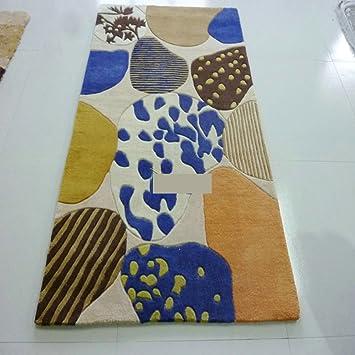 Amazon.de: wewr Hand Made in Wolle Teppiche Teppich ...