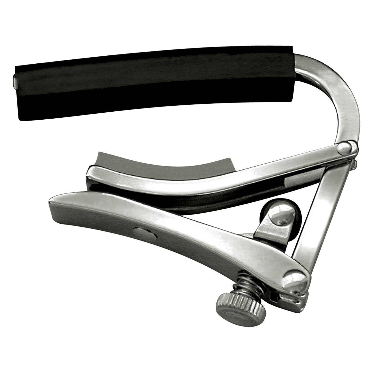 Shubb Deluxe Series GC-30 (S1) Acoustic Guitar Capo - Stainless Steel Saga Musical Instruments